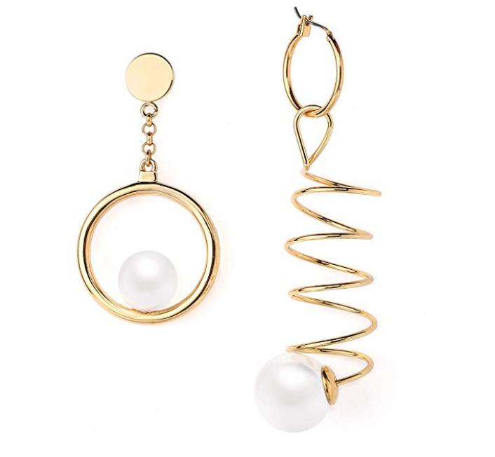 AiryAi Asymmetric Dangle Earrings